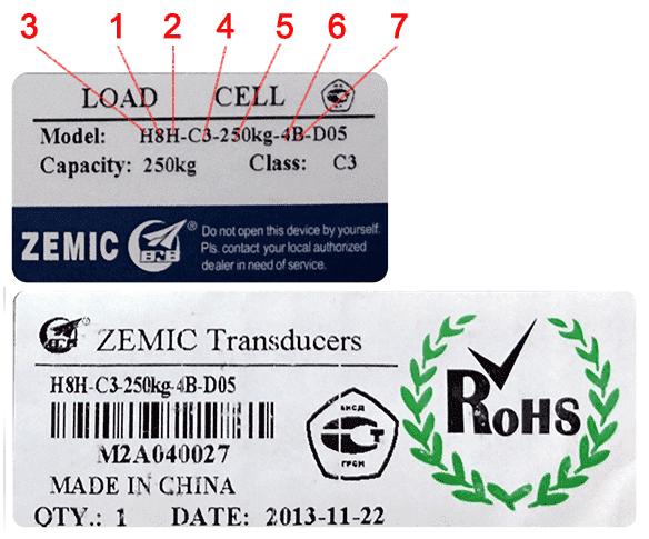 Как отличить тензодатчик Zemic от подделки. Обозначения типов тензометрических датчиков.